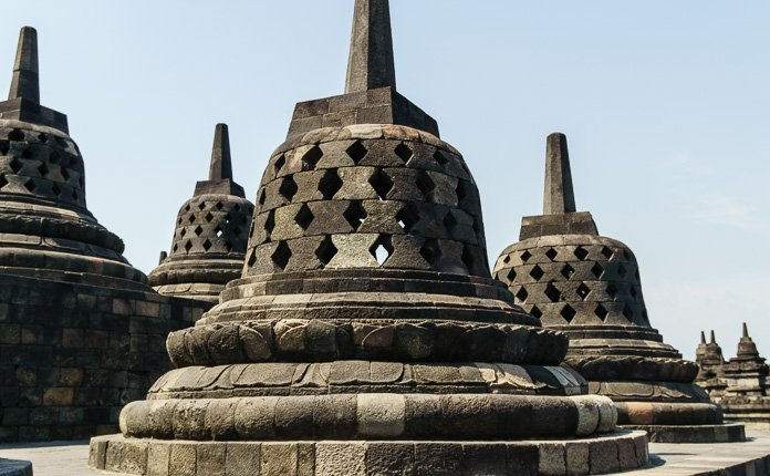 Borobudur Temple Indonesia Stupa