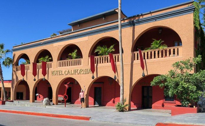 Hotel California Toto Santos Mexico