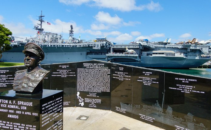 The USS Midway Ship