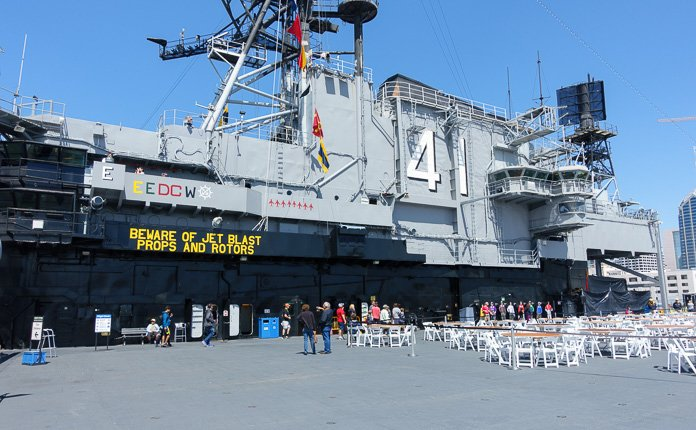The USS Midway Vessel