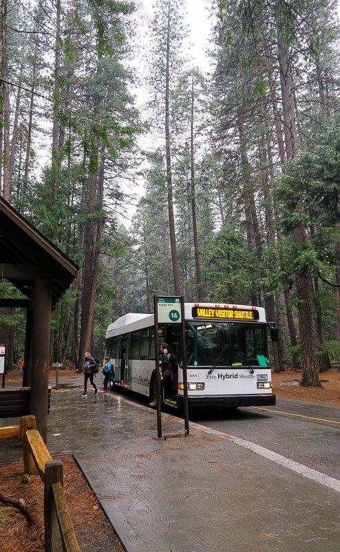 Transportation Yosemite Valley