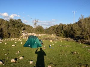 Camping in Turkey