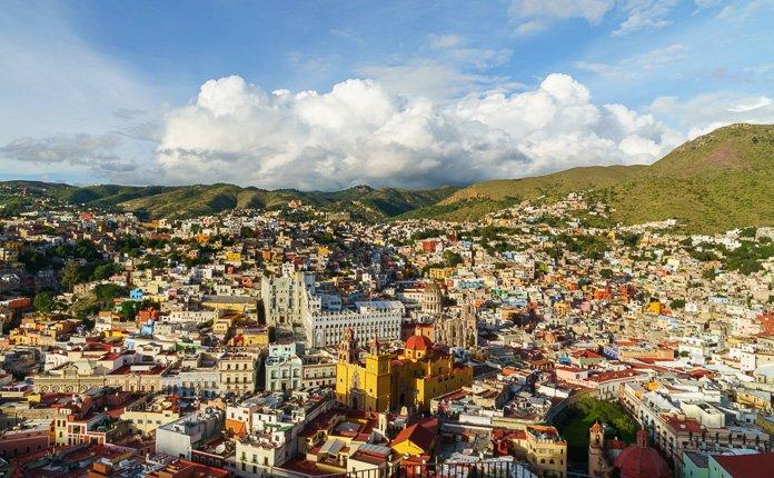 Guanajuato City overlook