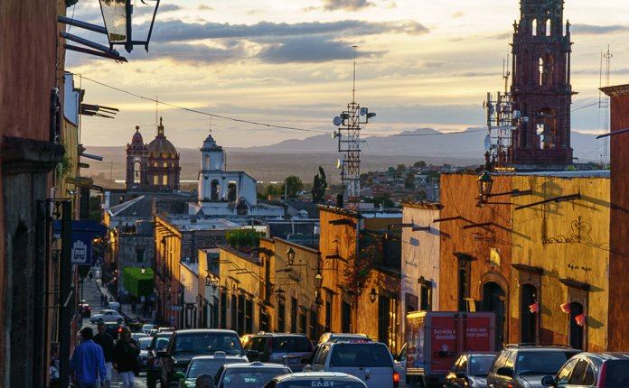 San Miguel de allende sunsets