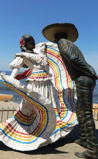 Puerto Vallarta malecon sculptures