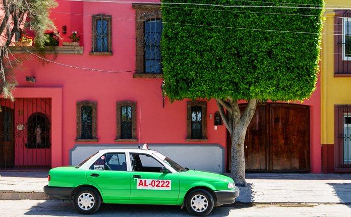 Guanajuato City streets