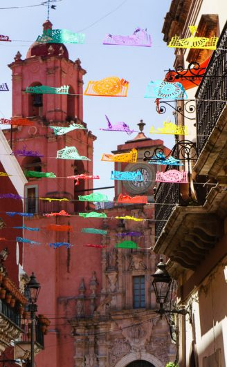 Guanajuato City Streets Mexico