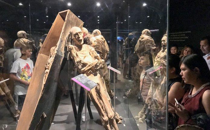 Guanajuato City Mexico mummy museum