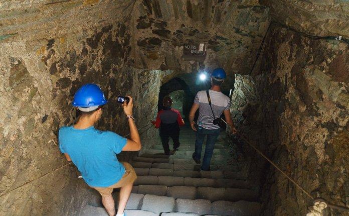 Guanajuato City Mexico Silver mine