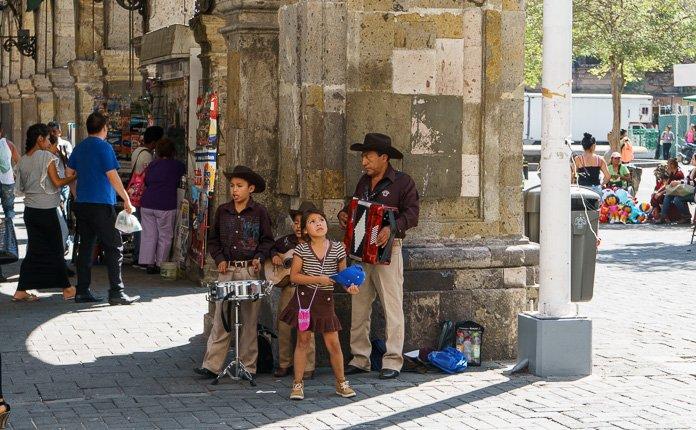 Guadalajara Centro Historico music Mexico
