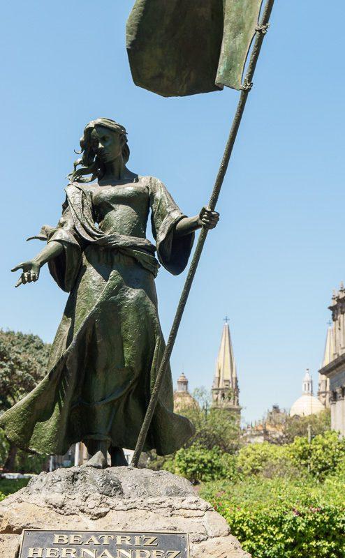 Guadalajara Centro Historico Sculpture Mexico