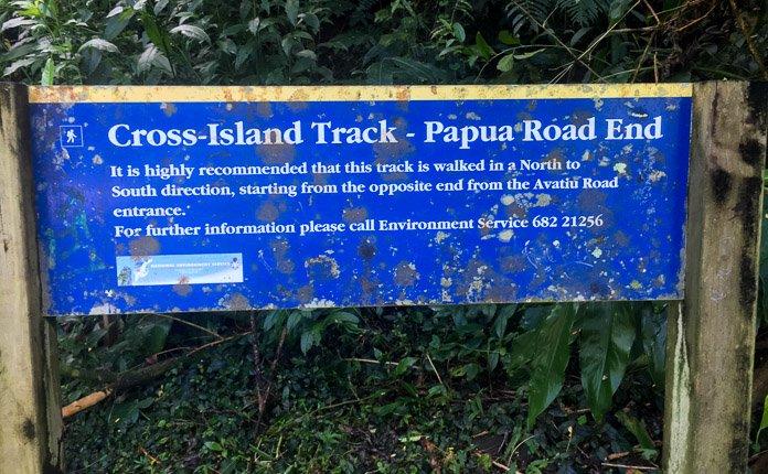 Cross Island Trek Rarotonga