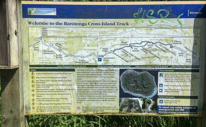 Cross Island Hike Rarotonga