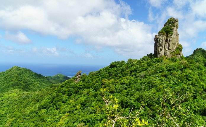 The Needle Rarotonga Hiking