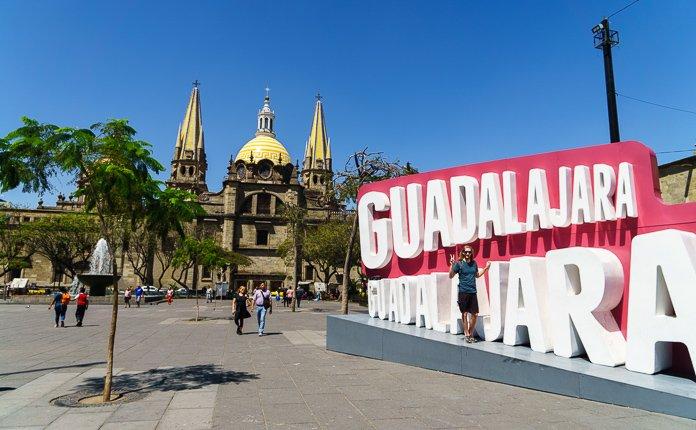 Guadalajara Centro Historico Sculptures Mexico