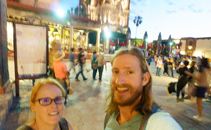 Night out in San Miguel de Allende