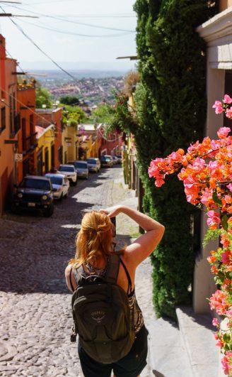Streets of San Miguel De Allende Mexico