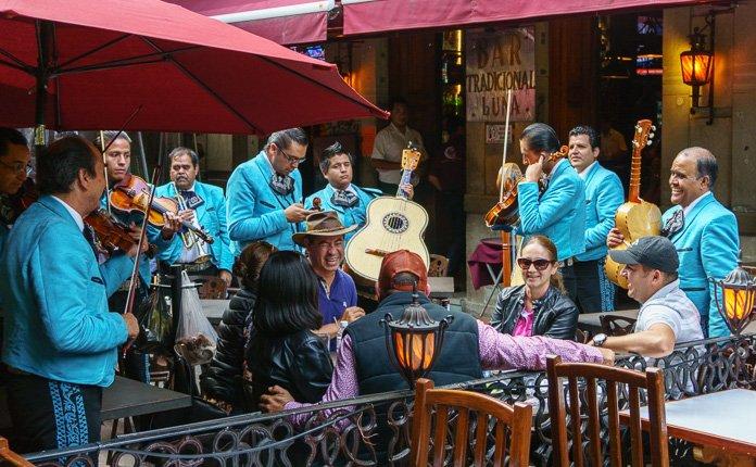 Mariachi music Guanajuato City Mexico