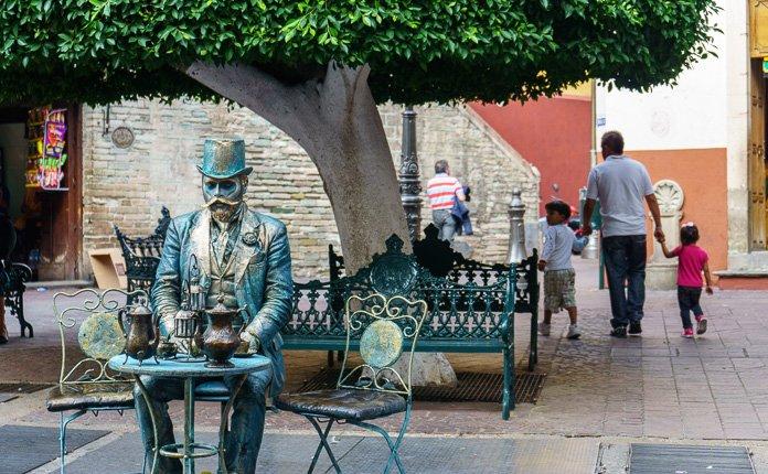 Guanajuato City Street Art Mexico
