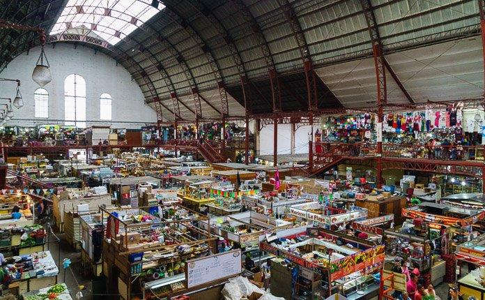 Guanajuato City Market Mexico