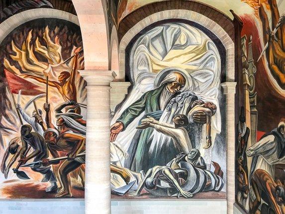 José Clemente Orozco art Guanajuato City Mexico