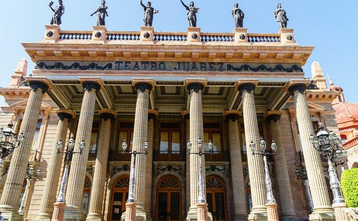 Guanajuato City Theater Mexico