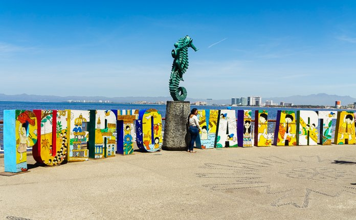 Puerto Vallarta Sign
