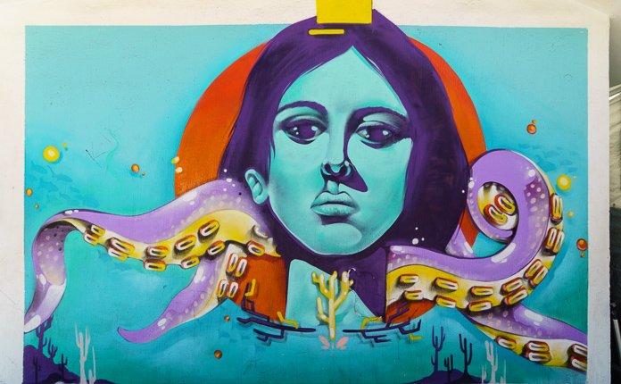 Puerto Vallarta Street art Malecon