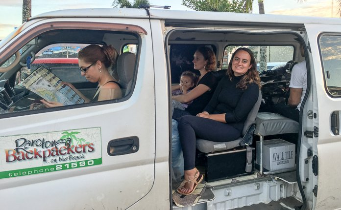Rarotonga Backpackers Transportation