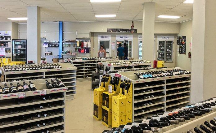 Rarotonga Bottle Shop
