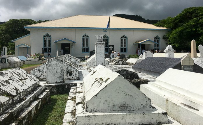 Rarotonga Church