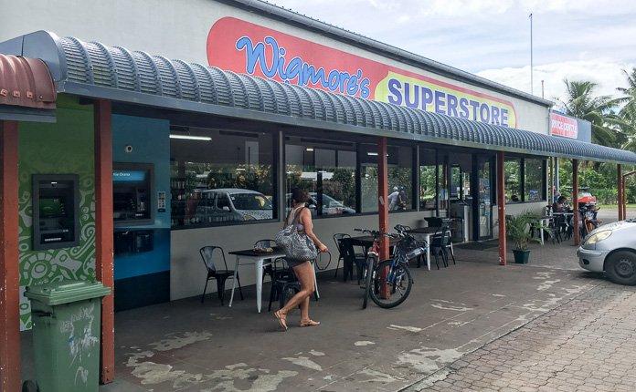 Wigmores Grocery Store Rarotonga