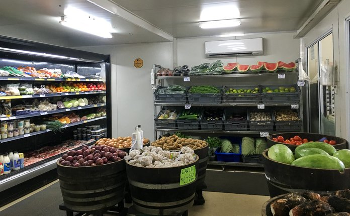 Rarotonga Grocery Store