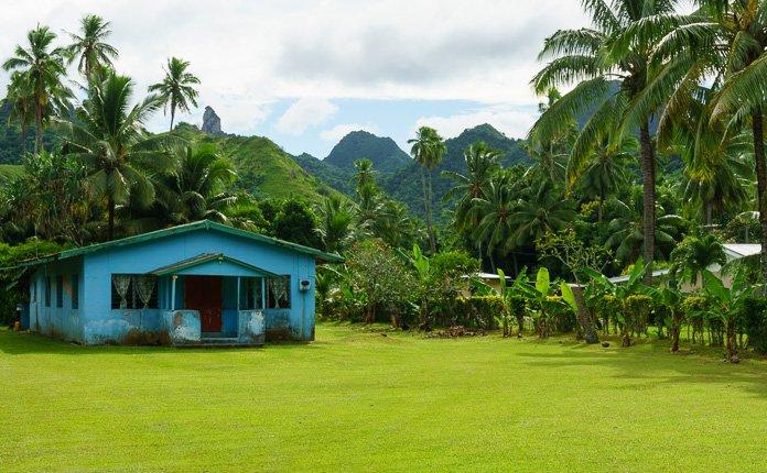 Rarotonga Island House