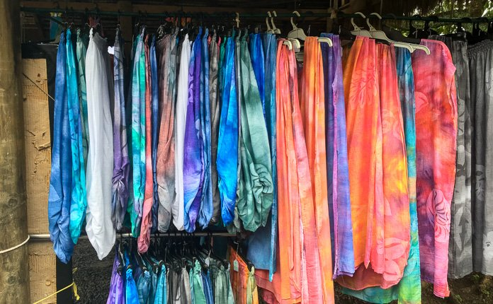 Rarotonga Market Clothing