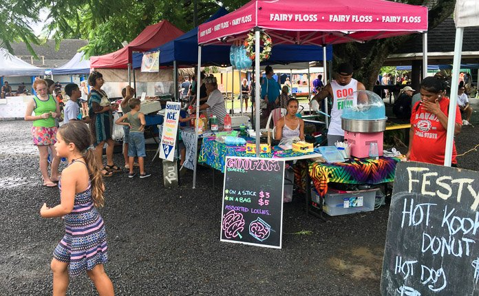 Rarotonga Market Food