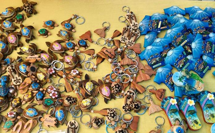 Rarotonga Market Keychains