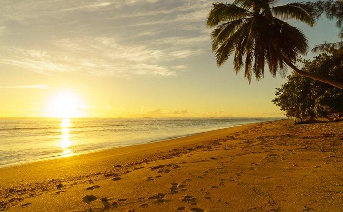 Rarotonga Beach Sunsets