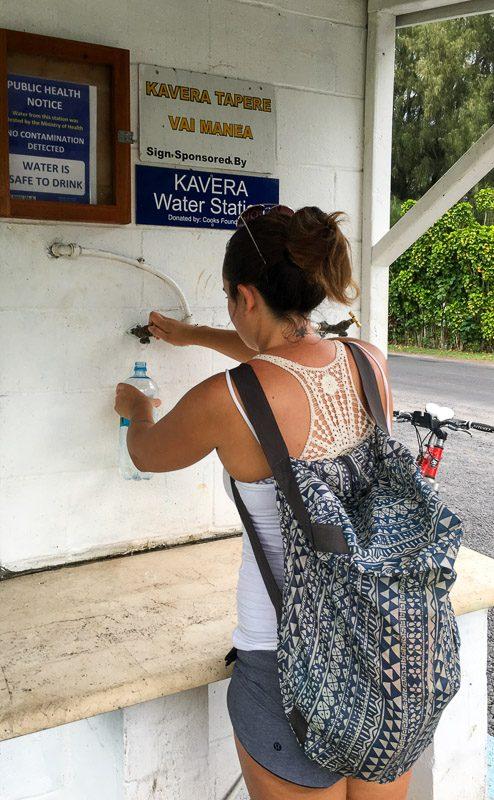 Rarotonga Water Stations