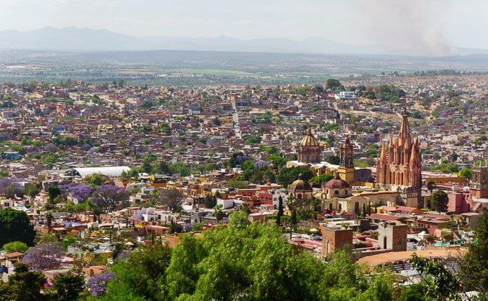 San Miguel de Allende el mirador