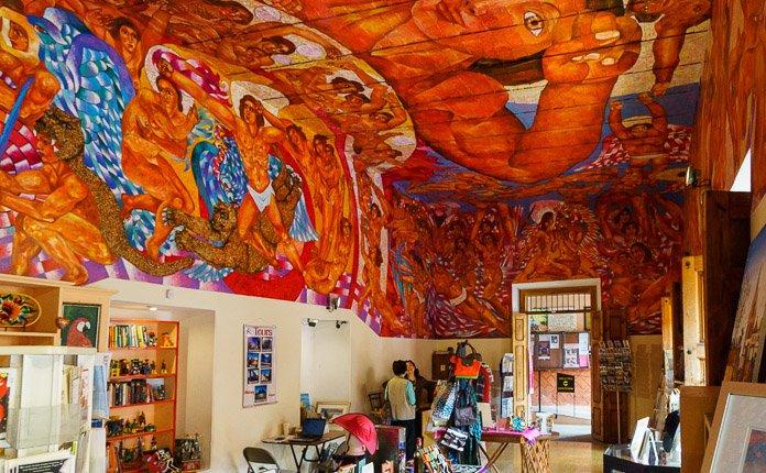 San Miguel de Allende Library Mexico