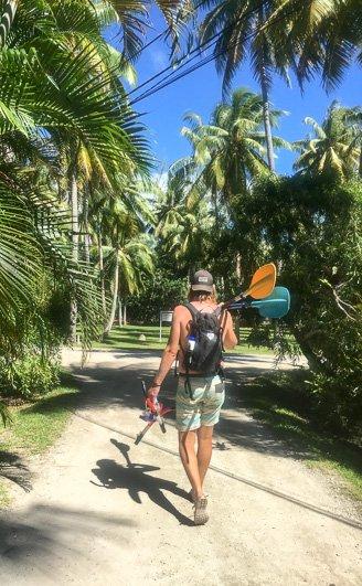 Kayaking Raiatea