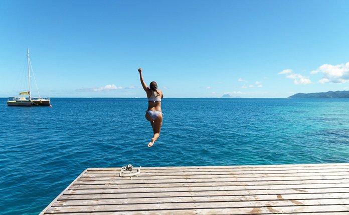 Swimming Raiatea
