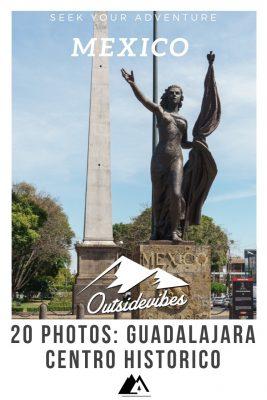 Guadalajara Centro Historico Sculpture Mexico Pinterest