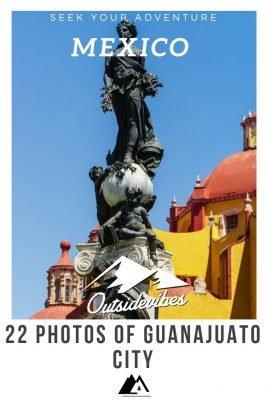Guanajuato City Statue Pinterest