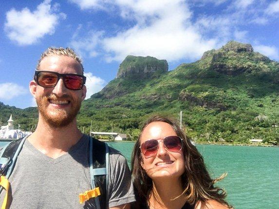 Backpacking Bora Bora
