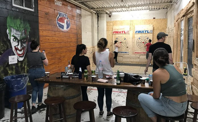 Bad Axe Throwing Toronto