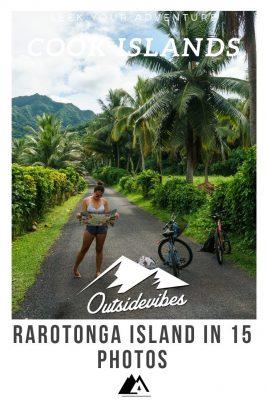 Biking Rarotonga Island Cook Islands