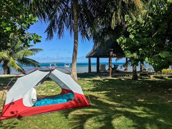 Camping Maupiti French Polynesia