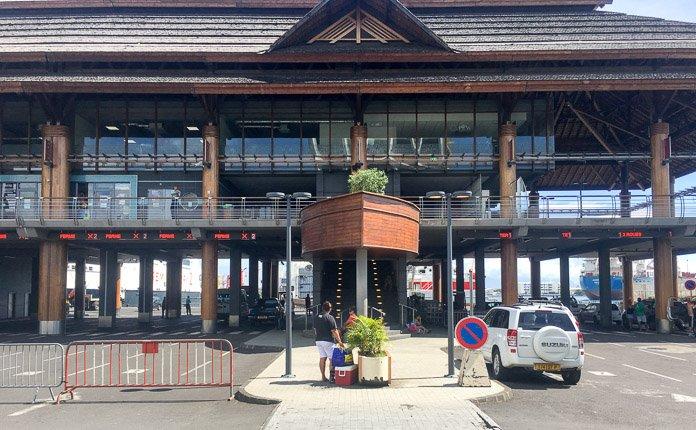 Papeete ferry terminal